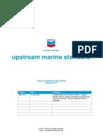 CUG MSRE Upstream Marine Standard 3.3