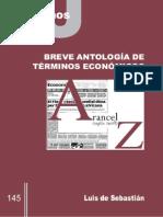Breve Antología de Términos Económicos