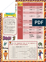 Comparisons With Scooby Doo Fun Activities Games Grammar Guides 2247  by ISL COLLECTIVE