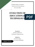 Evolution of Ed Tech Written Report