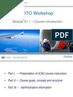 EDTO Module 1 – Course Introduction