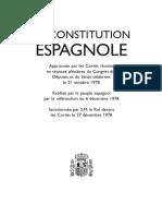 La Constitución Española en Francés