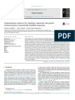 Comprehensive Matrices for Regulatory Approvals and Genetic Char 2017 Food C