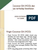 Virgin Coconut Oil (VCO) Dan Perannya