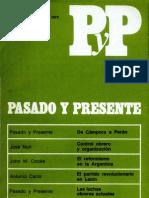 Cuadernos Pasado y Presente- Nº2-3 jul-dic 1973