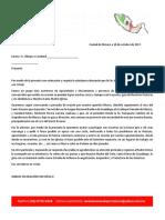 Carta.3 a Obispos y Cardenales 10102017