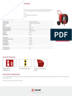 Wheeled AFFF Foam Extinguisher FT45 AFFF I 02.01.2018 Saval NL En