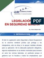 Diapositivas Sesión 1 - Legislación de Seguridad Minera
