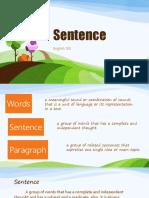 Sentence File