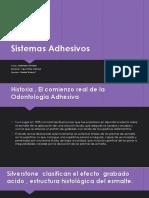 Sistemas Adhesivos Fiorella