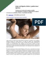 El orgasmo femenino está ligado al dolor y podría tener propiedades analgésicas.pdf