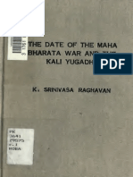 the date of the mahabharatha war and the kali yugadhi.pdf