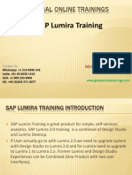 Sap Lumira Training - Ppt
