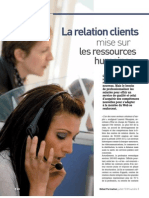 La Relation Client Mise Sur Les Ressources Humaines