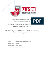 Fyp Cover Page