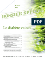 SANTE NATURE INNOVATION - Le diabète vaincu