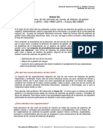 Apuntes de Clases Anexo SL (ISO 9001-2015 ISO 14001-2015 ISO 45001)