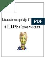 consigna DILLUNS