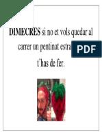 consigna DIMECRES