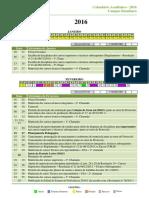 Calendario Academico Ifg Itumbiara 2016