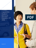 Microsoft Dynamics GP Capabilities Guide 2018_US