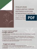 Pengaturan Osmolaritas Cairan Ekstraseluler Dan Konsentrasi Natrium