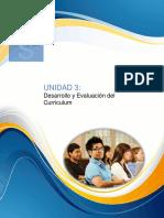 Unidad 3 - Desarrollo y Evaluación Del Curriculum