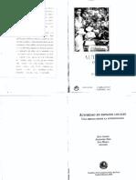 Diez, Alejandro; Ansión, Juan y Mujica, Luis - Autoridad en Espacios Locales. Una Mirada Desde La Antropología