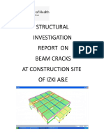 Rev 1 Structrl Report Izki Roof Bm Cracks 26 July 2017