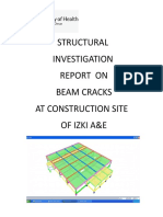 Structural Report on Izki Roof Beam Cracks 25 July 2017