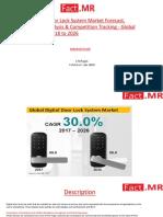 Digital Door Lock System Market