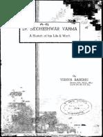 Dr Sideshwar Verma