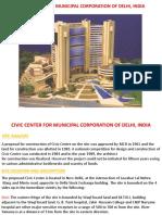 Civic Center for Municipal Corporation of Delhi,