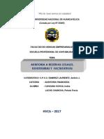 Auditoria a Las Reserva Legal, Estatutaria y Facultativa