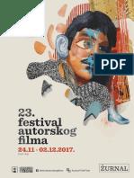 23. FAF, Žurnal 2017
