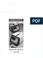 Hemochron 8000 Om