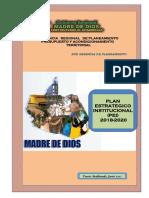 Plan Estrategico Institucional Del Gobierno Regional de Madre de Dios