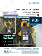 Clamp On Earth Tester by Hioki