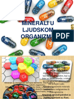Minerali u Ljudskom Organizmu
