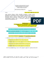 JACK NEIL PETERSON'S FALSIFIED AFFIDAVITS & PERJURY