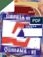 Capa - Projeto Agente Mirim de Defesa Civil - Quissamã - 2017