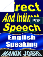Posobie Direct and Indirect Speech English Speaking