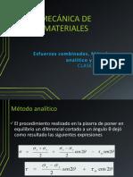 Pp 16 y Pp 17 - Método Analítico y Círculo de Mohr - Mecánica de Materiales