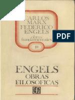 Federico Engels Cartas Sobre El Anti-Duhring y La Dialectica de La Naturaleza