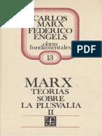 Carlos Marx Teorias Sobre Plusvalia  Tomo 2.pdf