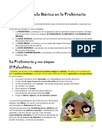La Península Ibérica en La Prehistoria 3o