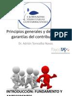Principios Generales y Derechos y Garantias Del Contribuyente - Adrian Torrealba