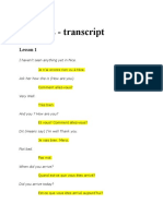 French2Transcript-lesson1 Pimsleur_French