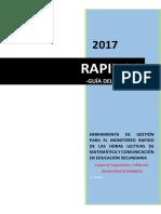Guía Del Usuario RAPIDOC 2017
