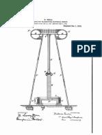 Torre Tesla Patent